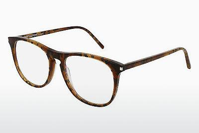 Lunettes design Saint Laurent SL 146 003 - Brunes, Havanna