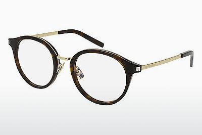 Lunettes design Saint Laurent SL 91 007 - Brunes, Havanna