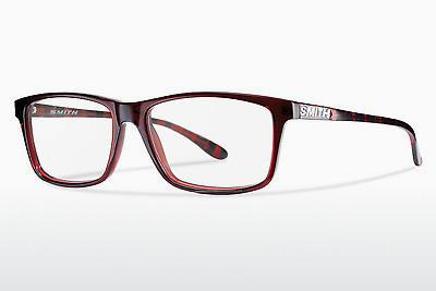 Lunettes design Smith MANNING 4RC - Rouges, Havanna