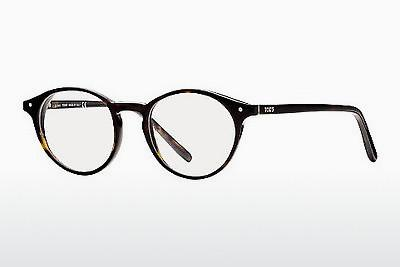 Lunettes design Tod's TO5073 052 - Brunes, Dark, Havana