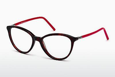 Lunettes design Tod's TO5122 054 - Brunes, Havanna, Rouges