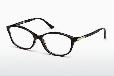 Lunettes design Tod's TO5129 052 - Brunes, Dark, Havana