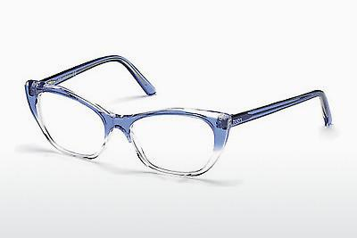 Lunettes design Tod's TO5146 086 - Bleues, Azurblue