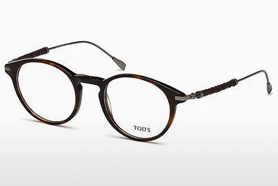 Lunettes design Tod's TO5170 054 - Rouges, Brunes, Havanna