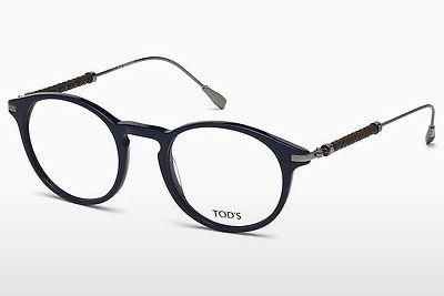 Lunettes design Tod's TO5170 090 - Bleues