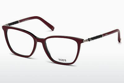 Lunettes design Tod's TO5171 071 - Bourgogne