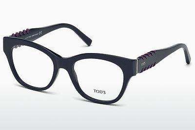 Lunettes design Tod's TO5174 090 - Bleues