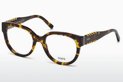 Lunettes design Tod's TO5175 055 - Multicolores, Brunes, Havanna
