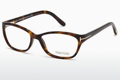 Lunettes design Tom Ford FT5142 052 - Brunes, Dark, Havana