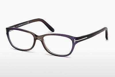 Lunettes design Tom Ford FT5142 059 - Corne, Beige, Brown