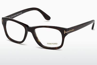 Lunettes design Tom Ford FT5147 052 - Brunes, Dark, Havana