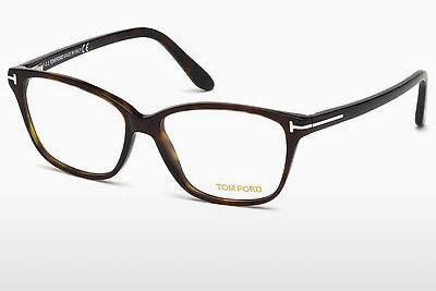 Lunettes design Tom Ford FT5293 052 - Brunes, Havana