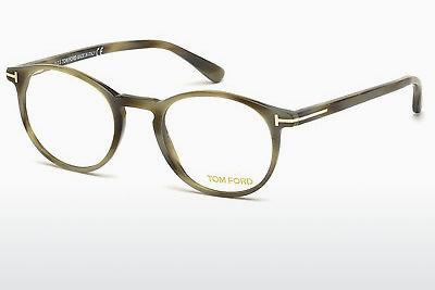 Lunettes design Tom Ford FT5294 064 - Brunes, Havanna, Multicolores