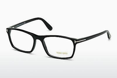 Lunettes design Tom Ford FT5295 002 - Noires, Matt