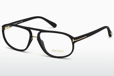 Lunettes design Tom Ford FT5296 002 - Noires, Matt