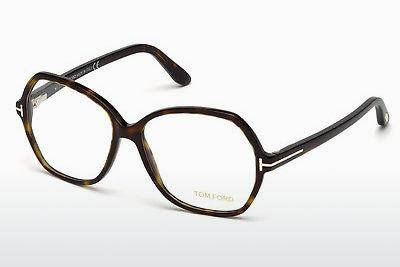 Lunettes design Tom Ford FT5300 052 - Brunes, Havana