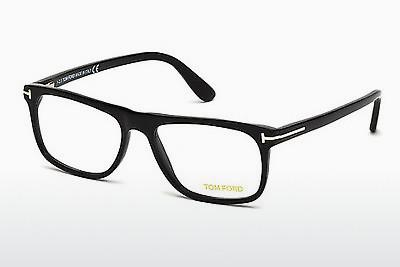 Lunettes design Tom Ford FT5303 002 - Noires, Matt