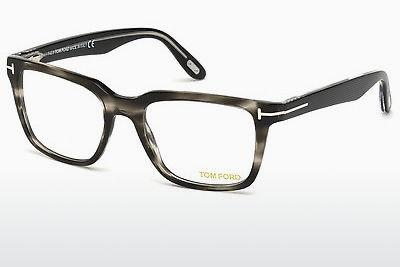 Lunettes design Tom Ford FT5304 093 - Vertes, Shiny