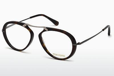 Lunettes design Tom Ford FT5346 052 - Brunes, Havana
