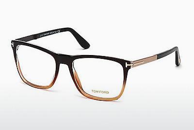 Lunettes design Tom Ford FT5351 050 - Brunes, Dark