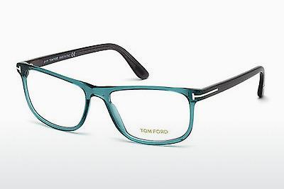 Lunettes design Tom Ford FT5356 087 - Bleues, Turquoise, Shiny
