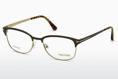 Lunettes design Tom Ford FT5381 050 - Brunes