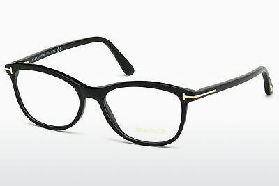 Lunettes design Tom Ford FT5388 001 - Noires, Shiny