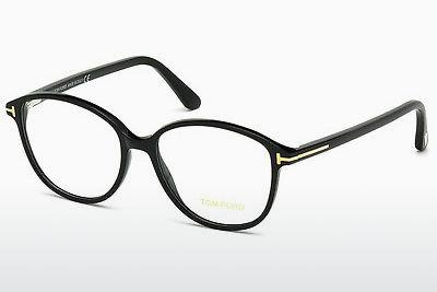 Lunettes design Tom Ford FT5390 001 - Noires, Shiny