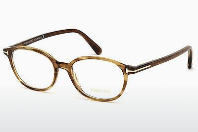 Lunettes design Tom Ford FT5391 048 - Brunes, Dark, Shiny