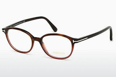Lunettes design Tom Ford FT5391 054 - Havanna, Red