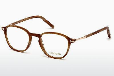 Lunettes design Tom Ford FT5397 062 - Brunes, Horn, Ivory
