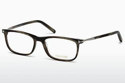 Lunettes design Tom Ford FT5398 061 - Vertes, Horn