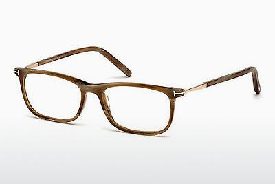 Lunettes design Tom Ford FT5398 062 - Brunes, Horn, Ivory