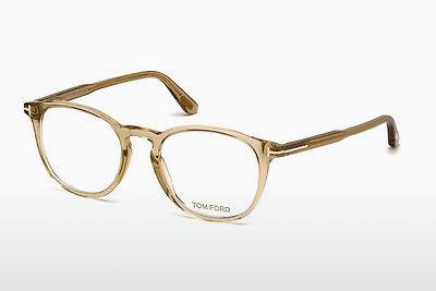 Lunettes design Tom Ford FT5401 045 - Brunes, Shiny