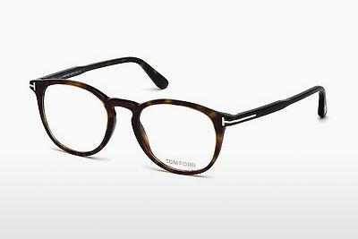 Lunettes design Tom Ford FT5401 052 - Brunes, Havana