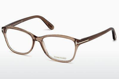 Lunettes design Tom Ford FT5404 048 - Brunes, Dark, Shiny
