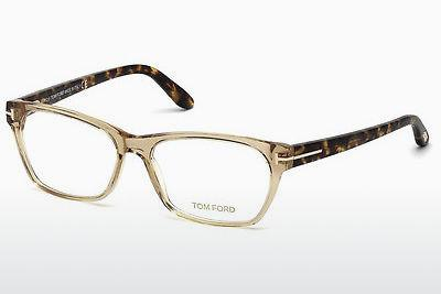 Lunettes design Tom Ford FT5405 045 - Brunes, Bright, Shiny