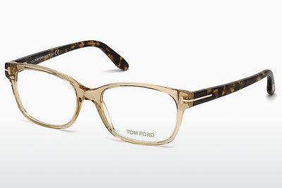 Lunettes design Tom Ford FT5406 045 - Brunes, Bright, Shiny