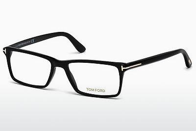 Lunettes design Tom Ford FT5408 001 - Noires, Shiny