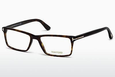 Lunettes design Tom Ford FT5408 052 - Brunes, Havana