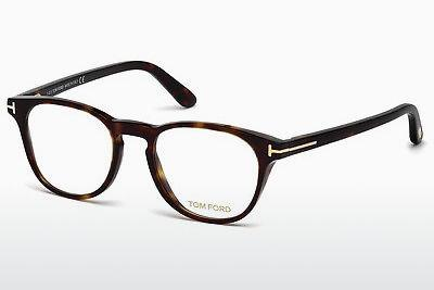 Lunettes design Tom Ford FT5410 052 - Brunes, Havanna