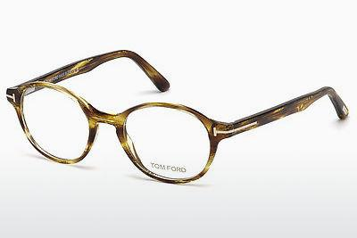 Lunettes design Tom Ford FT5428 039 - Jaunes, Shiny