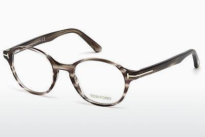 Lunettes design Tom Ford FT5428 048 - Brunes, Dark, Shiny