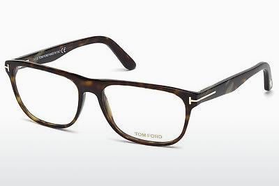 Lunettes design Tom Ford FT5430 052 - Brunes, Havanna