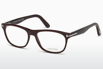 Lunettes design Tom Ford FT5431 048 - Brunes, Dark, Shiny
