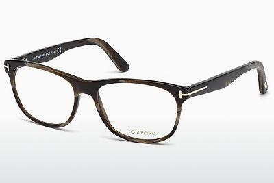 Lunettes design Tom Ford FT5431 062 - Brunes, Havanna