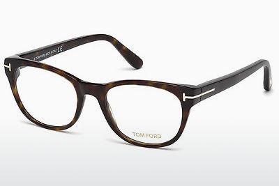 Lunettes design Tom Ford FT5433 052 - Brunes, Dark, Havana