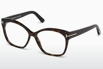 Lunettes design Tom Ford FT5435 052 - Brunes, Havana