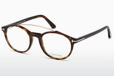 Lunettes design Tom Ford FT5455 052 - Brunes, Dark, Havana