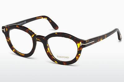 Lunettes design Tom Ford FT5460 052 - Brunes, Dark, Havana
